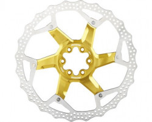 Disc frana Reverse Discrotor 203mm aluminiu/otel auriu