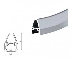 Janta SXT 28/622-27 mm 36H Silver HL13DA