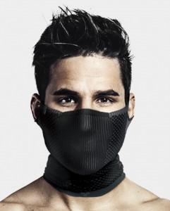 Masca pentru sportivi Naroo Mask F5 cu filtrare particule Negru/Albastru