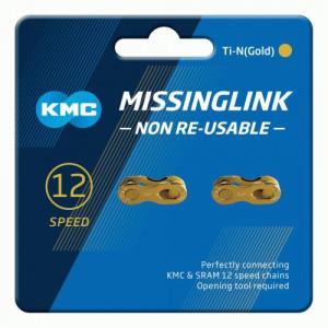 MissingLink KMC 12NR Ti-N Gold 12V ( 2 buc )