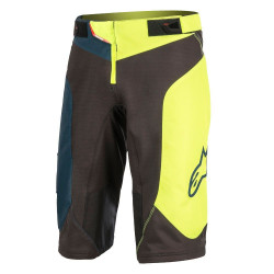 Pantaloni scurti Alpinestars Vector black/acid yellow 30