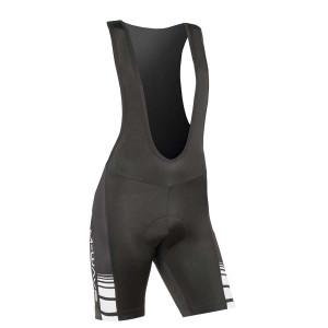 Pantaloni Scurti cu Bretele M-Wave,Negru/Alb , XL