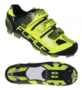 Pantofi Force Free MTB fluo/negru 39