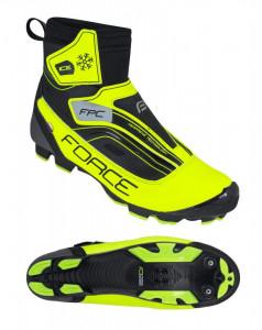 Pantofi iarna Force Ice MTB fluo 45