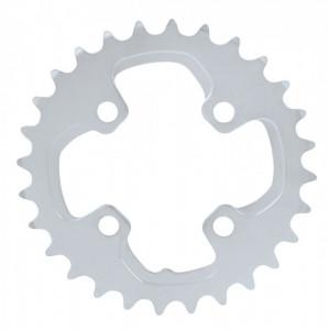 Placa pedalier Shimano FCM785 28 dinti argintie