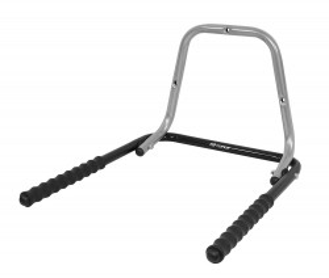 Suport perete pentru bicicleta pliabil gri/negru