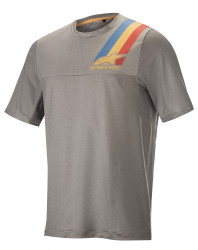 Tricou Alpinestars Alps 4.0 SS Jersey Melange Grey/Blue Red L