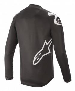 Tricou Alpinestars Racer V2 LS Black/ White M