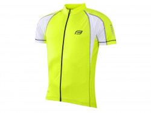 Tricou ciclism Force T10 fluo XXL