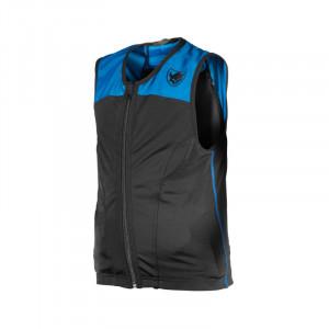Vesta cu protectii TSG Backbone Junior - Black Blue XS