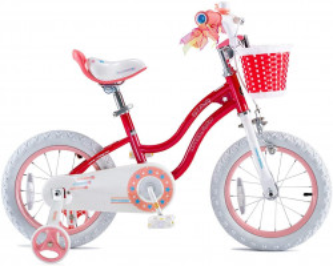Bicicleta RoyalBaby Star Girl 12 Pink