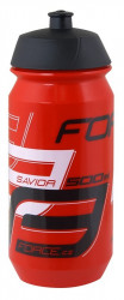 Bidon apa Force Savior 0.5l rosu/alb/negru