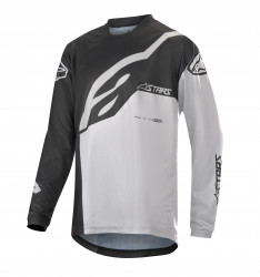 Bluza Alpinestars Youth Racer Factory LS Black White M