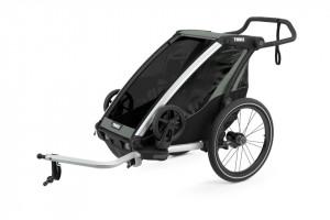 Carucior sport THULE Chariot Lite 1 - Aluminum/Agave