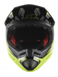 Casca Alpinestars Missile tech Airlift Black/yellow Fluo S