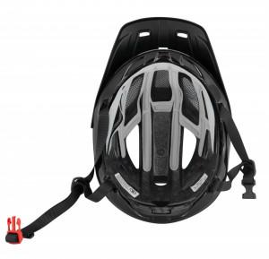 Casca Force Aves MTB E-bike, Rosu-Negru Mat L-XL