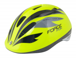 Casca Force Fun Stripes Fluo/Negru/Gri M