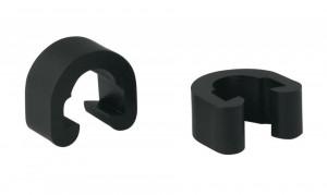 Cleme plastic negre pentru cabluri si conducte