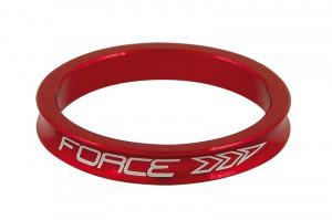 Distantier furca Force 1.1/8 5 mm al. rosu