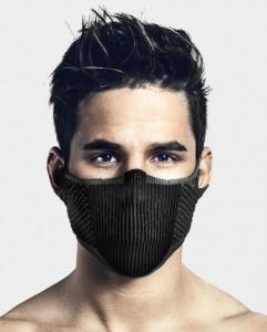 Masca pentru sportivi Naroo Mask F5s cu filtrare particule Negru/Gri