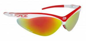 Ochelari Force Air alb/rosu lentila rosu laser