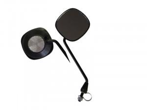 Oglinda QT Cycle Tech 90x90 mm cu Reflector