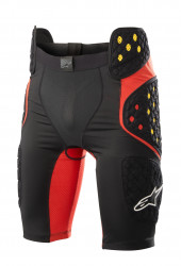 Pantaloni cu Protectie Alpinestars Bionic Pro Negru/Rosu L