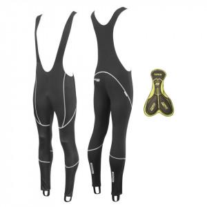 Pantaloni Force Z70 cu bretele si bazon negri XS