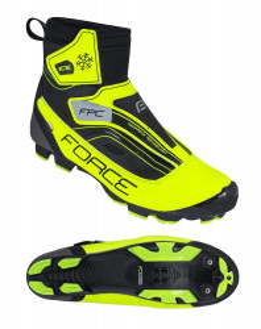 Pantofi iarna Force Ice MTB fluo 44