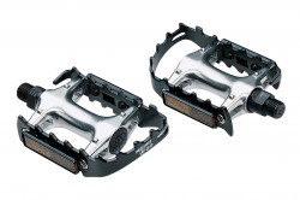 Pedale BBB MountsiGo negru aluminiu ax CroMo BPD-1501