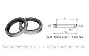 "Rulment cuvete FSA TH-873E ACB 36x45 1""1/8 SingleS MR122"