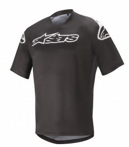Tricou Alpinestars Racer V2 SS Black/ White M