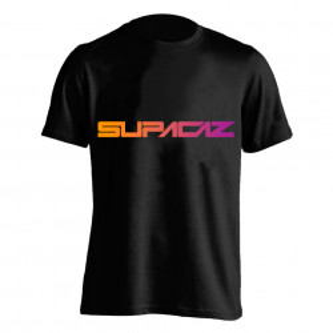 Tricou SUPACAZ - Fader - Orange/Mov XL