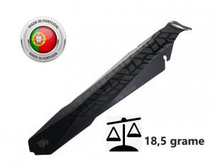 Aparatoare Noroi Spate LASALLE SPORTS UTAH#4 Negru Matt 106x368 mm