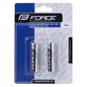 Baterii Force alcaline AAA / 1.5V 2 bucati
