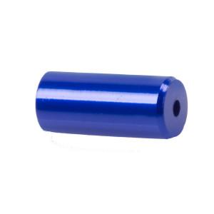 Capete Manta CNC 5,1x12 mm M-WAVE Aluminiu Albastru Anodizat