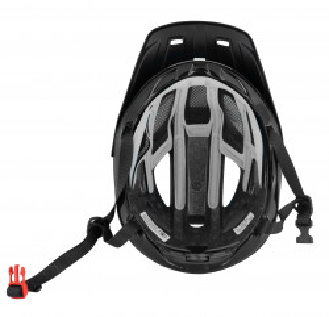 Casca Force Aves MTB E-bike, Fluo-Negru Mat S-M