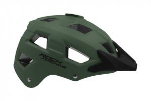 Casca Rock Machine Trail negru/verde inchis S-M (54-58 cm)