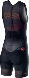 Costum Triatlon Castelli Free W Tri Suit de dama Negru/Multicolor S
