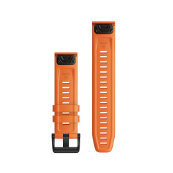 Curea Garmin Quickfit 22 Silicon Ember Orange