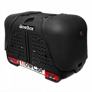 Cutie portbagaj pe carligul de remorcare Towbox V2 Negru