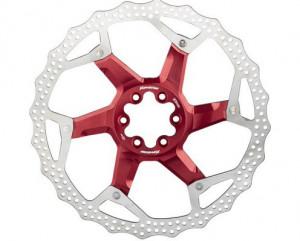 Disc frana Reverse Discrotor 203mm aluminiu/otel rosu