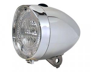 Far Clasic Union cu iluminare led, pe baterii Argintiu