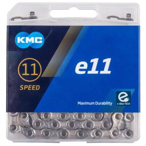"Lant E-Bike KMC ""E11-Silver"" 11 viteze 122 zale"
