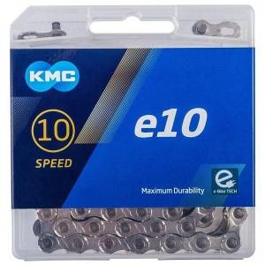 Lant KMC E10 Silver 10 Viteze 122 zale Ebike, Argintiu