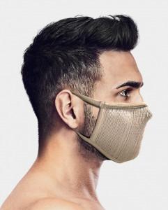 Masca pentru sportivi Naroo FU+ cu filtrare particule S Bej