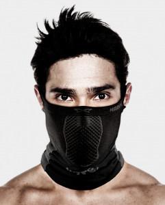 Masca pentru sportivi Naroo Mask X5 Negru/Albastru