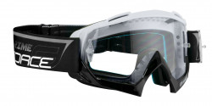 Ochelari Force GRIME negri lentile transparente + 10 tear offs