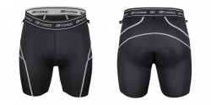 Pantaloni Force Blade MTB cu sub-pantaloni cu bazon Navy S