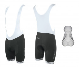 Pantaloni scurti cu bazon si bretele Force B38 XL